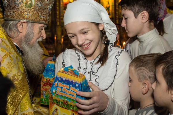 Праздник ко дню Святого Николая Чудотворца в нашей воскресной школе 21 декабря 2014 года_25